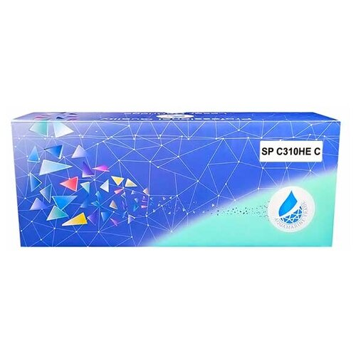 Фото - Картридж Aquamarine SP C310HE C (совместимый с картриджем Ricoh SP C310HE C) принт картридж ricoh sp c310he голубой