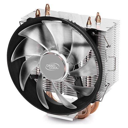 Кулер для процессора Deepcool GAMMAXX 300B серебристый/черный/синий