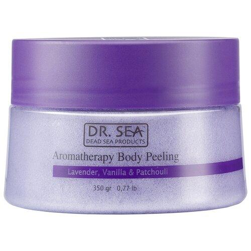 Dr. Sea Пилинг для тела Ароматический с маслами лаванды, ванили и пачули, 350 г