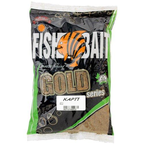 Прикормочная смесь FishBait Gold Карп карп 1000 г