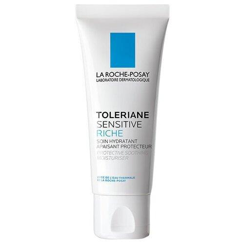 La Roche-Posay Toleriane Sensitive Riche Насыщенный крем увлажняющий уход для сухой чувствительной кожи лица с пребиотической формулой, 40 мл недорого