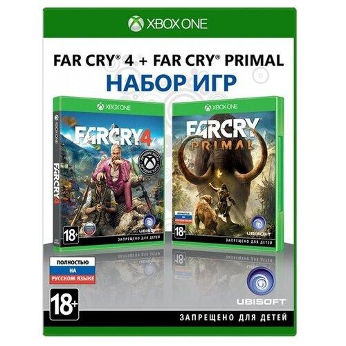 Игра для Xbox ONE Far Cry 4 + Far Cry Primal полностью на русском языке