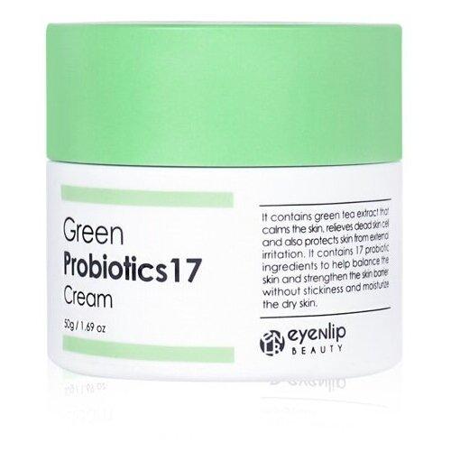Купить Eyenlip Eyenlip Green Probiotics 17 Cream Увлажняющий крем с пробиотиками и зеленым чаем для лица, 50 мл