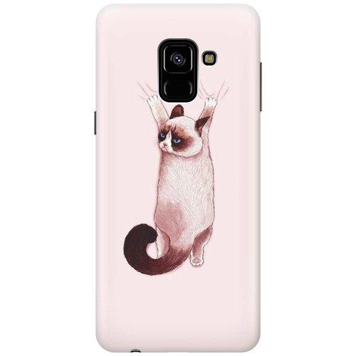 Cиликоновый чехол на Samsung Galaxy A8 (2018) / Самсунг А8 2018 с принтом
