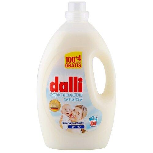 Фото - Гель для стирки Dalli Sensitiv Superkonzentrat для детского белого и цветного белья, 104 стирки, 3.65 л, бутылка гель для стирки dalli sport