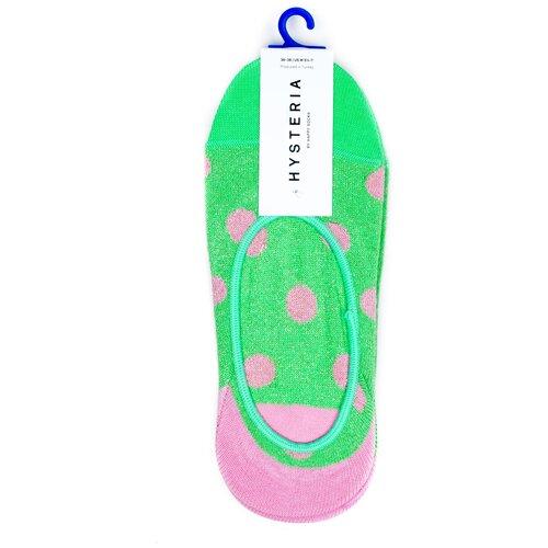 Комплект носков женских премиального бренда Hysteria 2 Pair Pack No Show - Claudia - Green 36-38