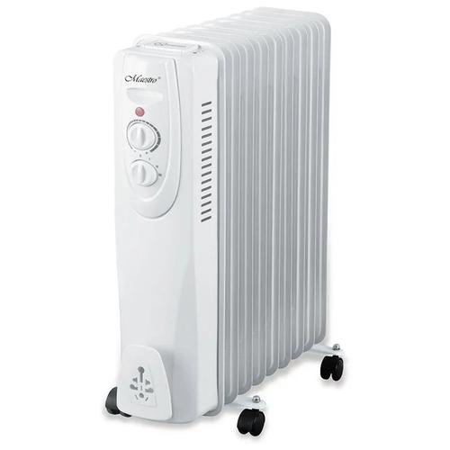 Масляный радиатор Maestro MR-950-9 белый