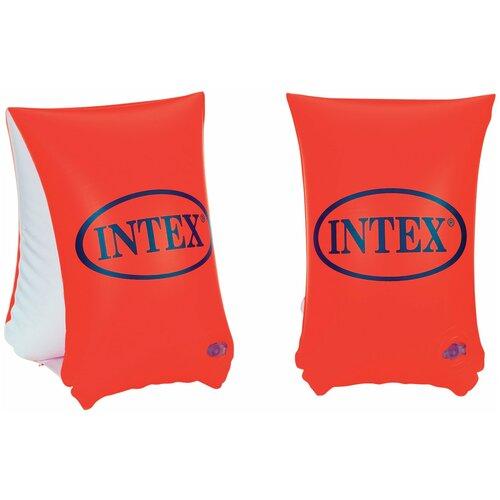 Фото - Нарукавники для плавания Intex Deluxe 58641, оранжевый круги и нарукавники для плавания intex надувной круг русалка