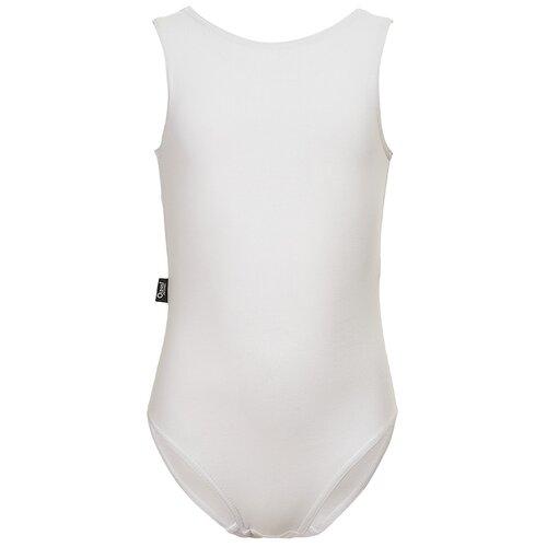 Купить AOGM20SW2KC03 Купальник для спортивной гимнастики д/дев. Рона 9-10 л размер 140-68-60 цвет белый, Oldos, Купальники и плавки