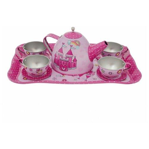 Купить Набор посуды Mary Poppins Принцесса 453080 розовый, Игрушечная еда и посуда