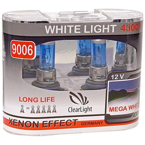 Лампа автомобильная галогенная ClearLight White Light ML9006WL HB4 12V 51W 2 шт.