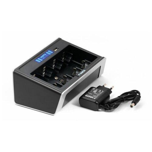 Фото - Универсальное ЗУ Varta LCD Universal Charger для АА, ААА, С, D зу panasonic basic k kj51mcc04e для 2 или 4 акк аа ааа ni mh 10 часов и 4шт ааа 750 мач