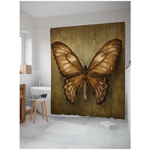 Фото - Штора для ванной JoyArty Грациозная бабочка 180х200 (sc-3527) штора для ванной joyarty прыгучая бабочка 180х200 sc 16368