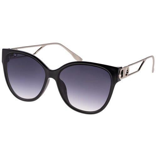 Солнцезащитные очки женские/Очки солнцезащитные женские/Солнечные очки женские/Очки солнечные женские/21kdgara1308682c1vr черный,синий/Vittorio Richi/Кошачий глаз/модные