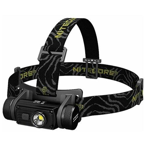 Фото - Налобный фонарь Nitecore HC60W черный тактический фонарь nitecore mh27 черный