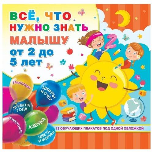 Купить Обучающие плакаты под одной обложкой. Все, что нужно знать малышу от 2 до 5 лет, Малыш, Учебные пособия