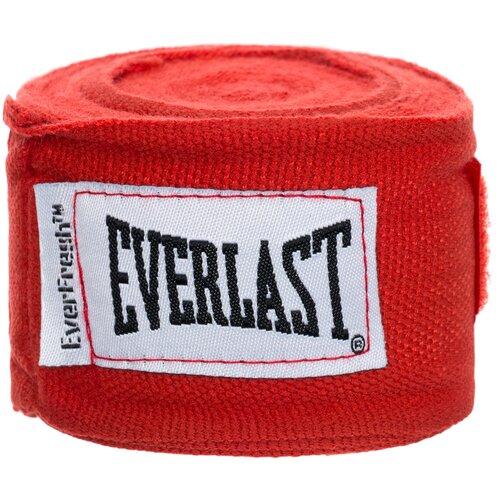 Кистевые бинты Everlast 4463 2,5 м красный