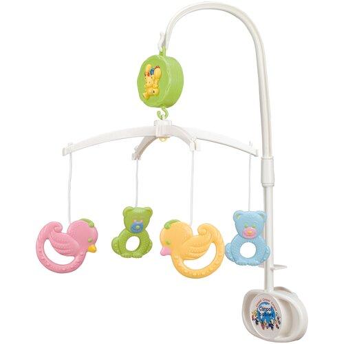 Купить Механический мобиль Canpol Babies Мишки и утки (2/517) белый, Мобили