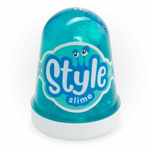 Лизун LORI Style Slime с ароматом яблока морская волна