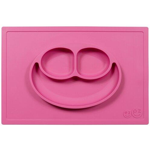 Купить Тарелка EZPZ Happy mat, pink, Посуда
