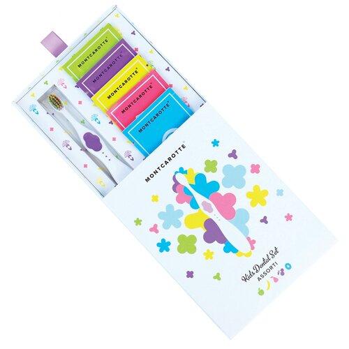 Купить Набор для чистки зубов Montcarotte Kids Dental Set Assorti 0+, purple, Гигиена полости рта