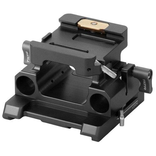 Фото - Базовая площадка Tilta TILTAING 15mm LWS Baseplate Type II (Tilta Gray) зубчатое кольцо фокусировки tilta для объектива 81 83 мм