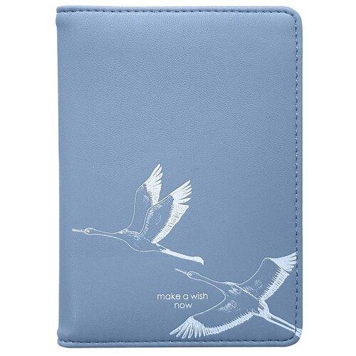 Обложка для паспорта InFolio Wish, blue