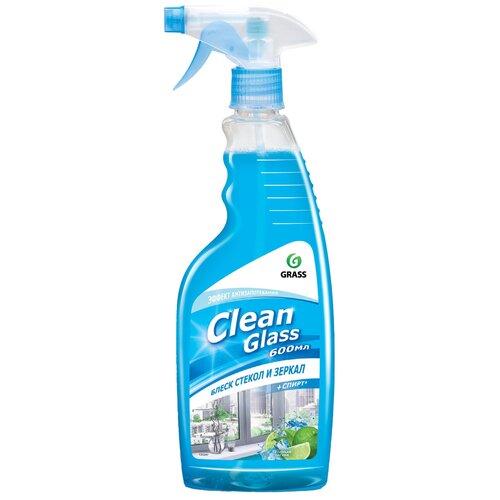 Фото - Спрей Grass Clean Glass блеск стекол и зеркал (голубая лагуна), 600 мл очиститель стекол grass clean glass 110393 600 мл