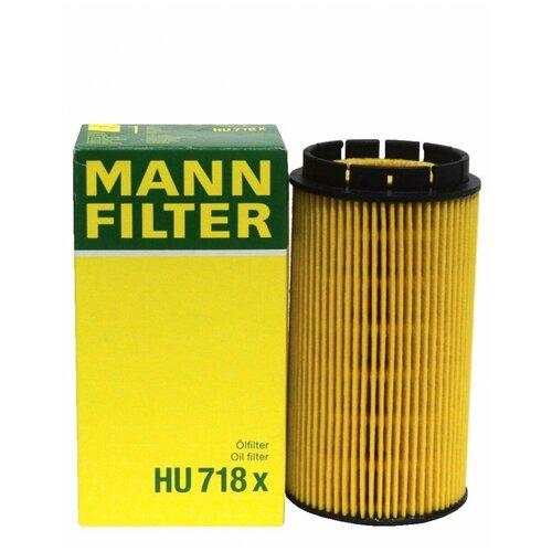 Фильтрующий элемент MANN-FILTER HU 718 x фильтрующий элемент mann filter hu 718 6 x