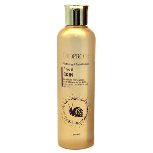 Deoproce Whitening And Anti-Wrinkle Snail Skin Флюид для лица с улиточным экстрактом, 260 мл эмульсия для лица с экстрактом соевых бобов 150 мл deoproce soybean
