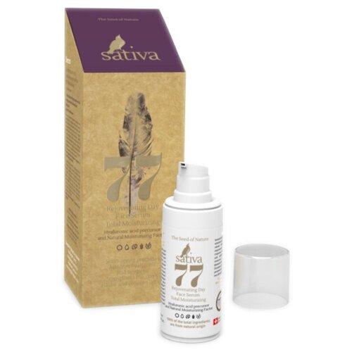Sativa Serum №77 Сыворотка для лица омолаживающая дневная Комплексное увлажнение, 20 мл