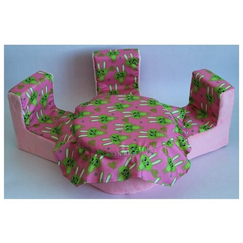 Мягкая мебель для кукол стол, 3 стула 004-31 недорого