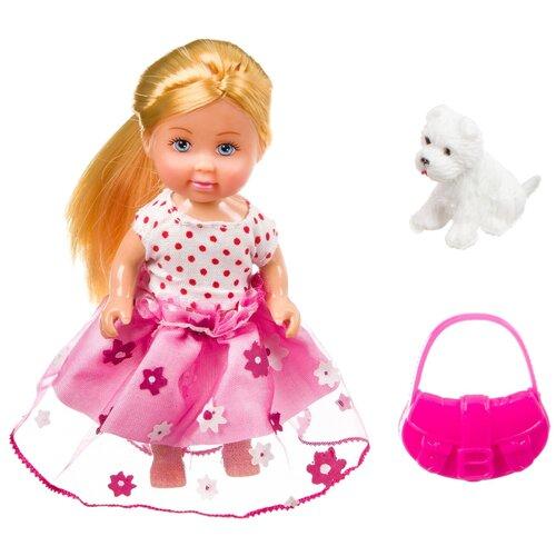 Фото - Игровой набор Bondibon OLY Куколка с собачкой и сумочкой в прозрачном шаре, 11 см, ВВ3885 набор игровой bondibon кукольный уголок гостиная и куколка oly