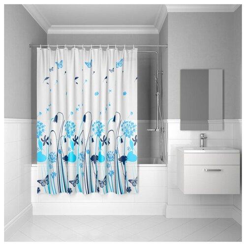 Штора для ванной комнаты, 180*180см, PEVA, P31PV11i11, IDDIS штора для ванной комнаты 180 180см peva p27pv11i11 iddis