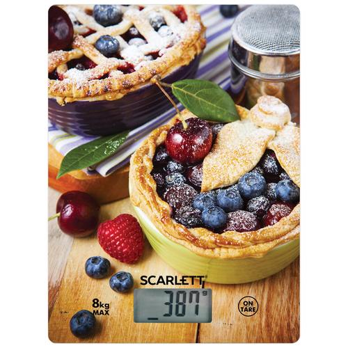 Кухонные весы Scarlett SC-KS57P59 черничный пирог