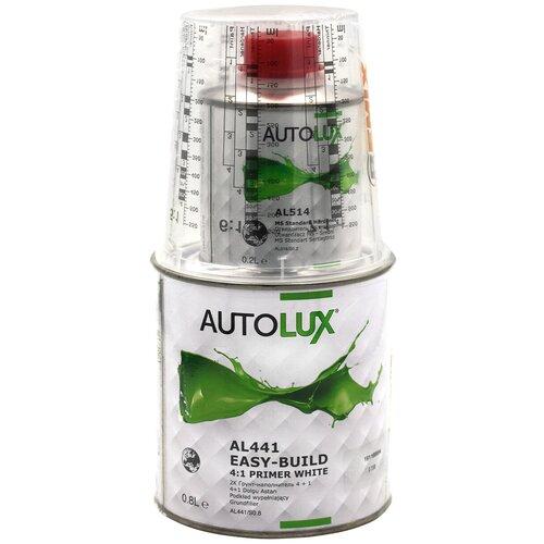 Грунт-наполнитель Autolux Easy-Build 4:1 + AL514, 2 шт. белый