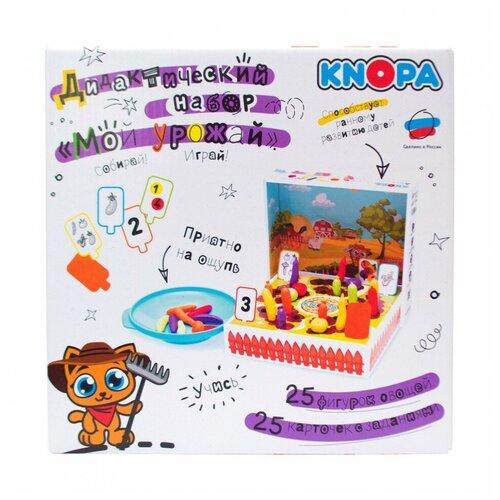Фото - Игровой набор KNOPA Мой урожай KNOPA развивающие игрушки knopa дидактический набор мой сад