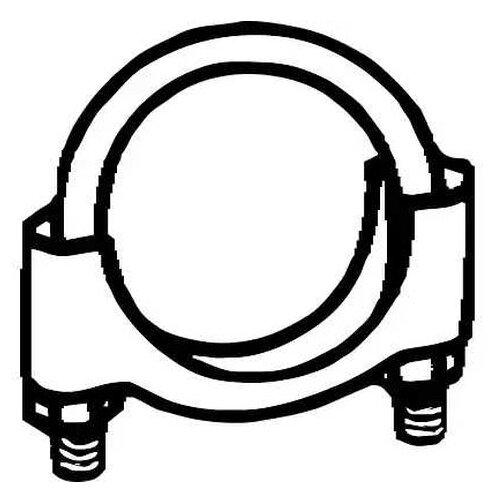 Хомут глушителя Fenno Steel X91195