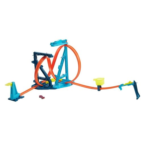 Трек Hot Wheels Track Builder Unlimited GVG10 launcher track t rex rampage hot wheels