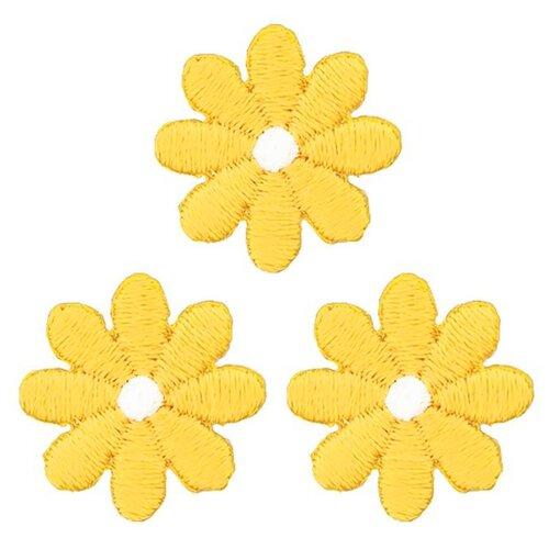 926721 Термоаппликация Цветы малые жел. Prym