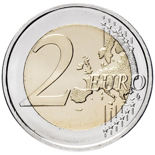Монета Банк Финляндии 150 лет со дня рождения Хелены Шерфбек 2 евро 2012 года