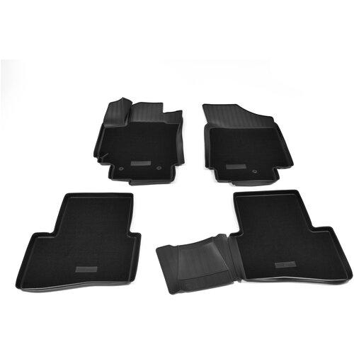 Фото - Комплект ковриков салона NorPlast NPA11-C31-050-CM для Hyundai Creta 4 шт. черный комплект ковриков norplast np11 ldc 31 052 hyundai creta 5 шт черный