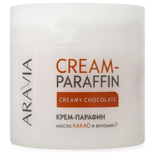 Крем-парафин Aravia Professional Сливочный шоколад с маслом какао и витамином F 270 мл aravia professional крем парафин цветочный нектар с цветочным и пчелиным воском 270 мл