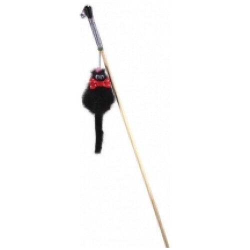 Gosi 07234 игрушка для кошек махалка мышь норка m микки на веревке, 83402 (2 шт)