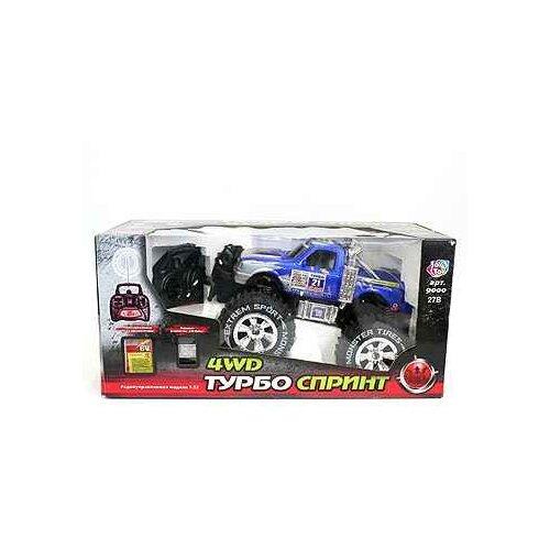 Купить Упр. радио маш. Play Smart BOX 34*24 см. Джип ТурбоСпринт арт. 9000, Радиоуправляемые игрушки