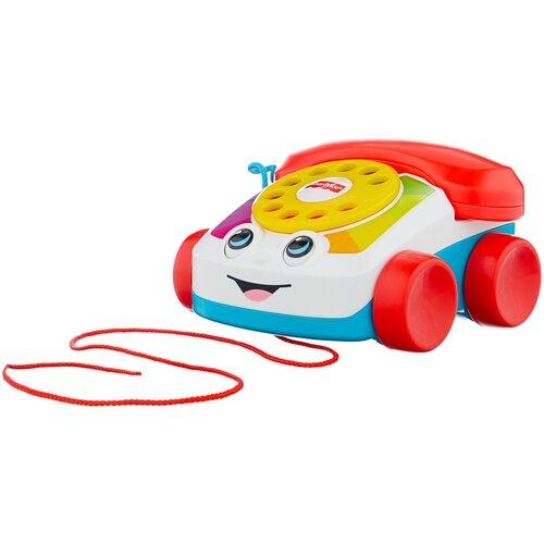 Купить Каталка-игрушка Fisher-Price Болтливый телефон (FGW66) красный/белый/голубой, Каталки и качалки