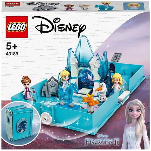 Конструктор LEGO Disney Princess 43189 Книга сказочных приключений Эльзы и Нока конструктор lego disney princess 43176 книга сказочных приключений ариэль