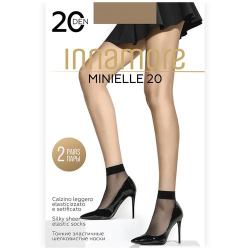 Капроновые носки Innamore Minielle 20, 2 пары, размер UNI, daino