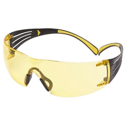 Очки 3M SecureFit 400 с покрытием Scotchgard желтый очки 3m securefit 203 желтый