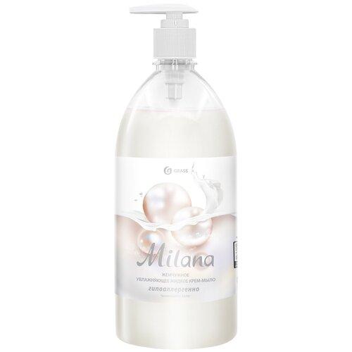 Крем-мыло жидкое Grass Milana жемчужное, 1 л крем мыло жидкое grass milana манго и лайм 3 шт 1 л
